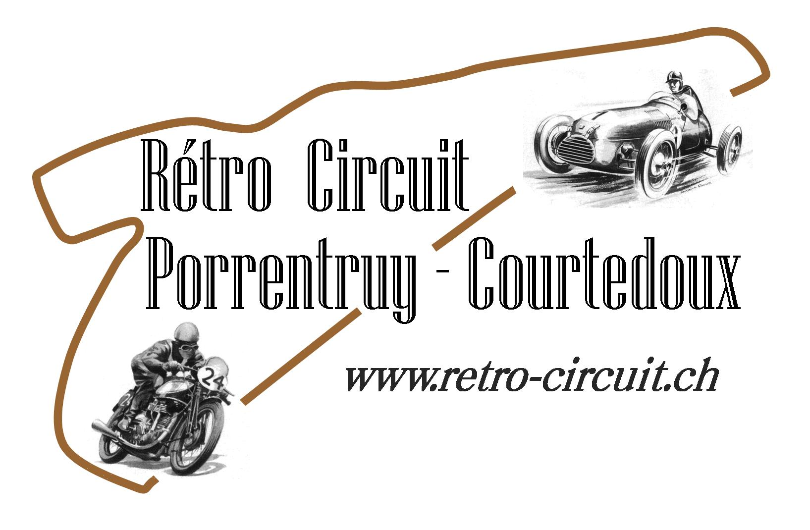 Rétro Circuit Porrentruy Courtedoux Logo