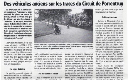 article journal ajoie 19 avril 2017